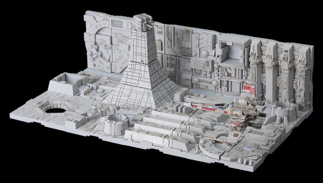 Death Star Attack Diorama from Bandai | Creative Dioramas